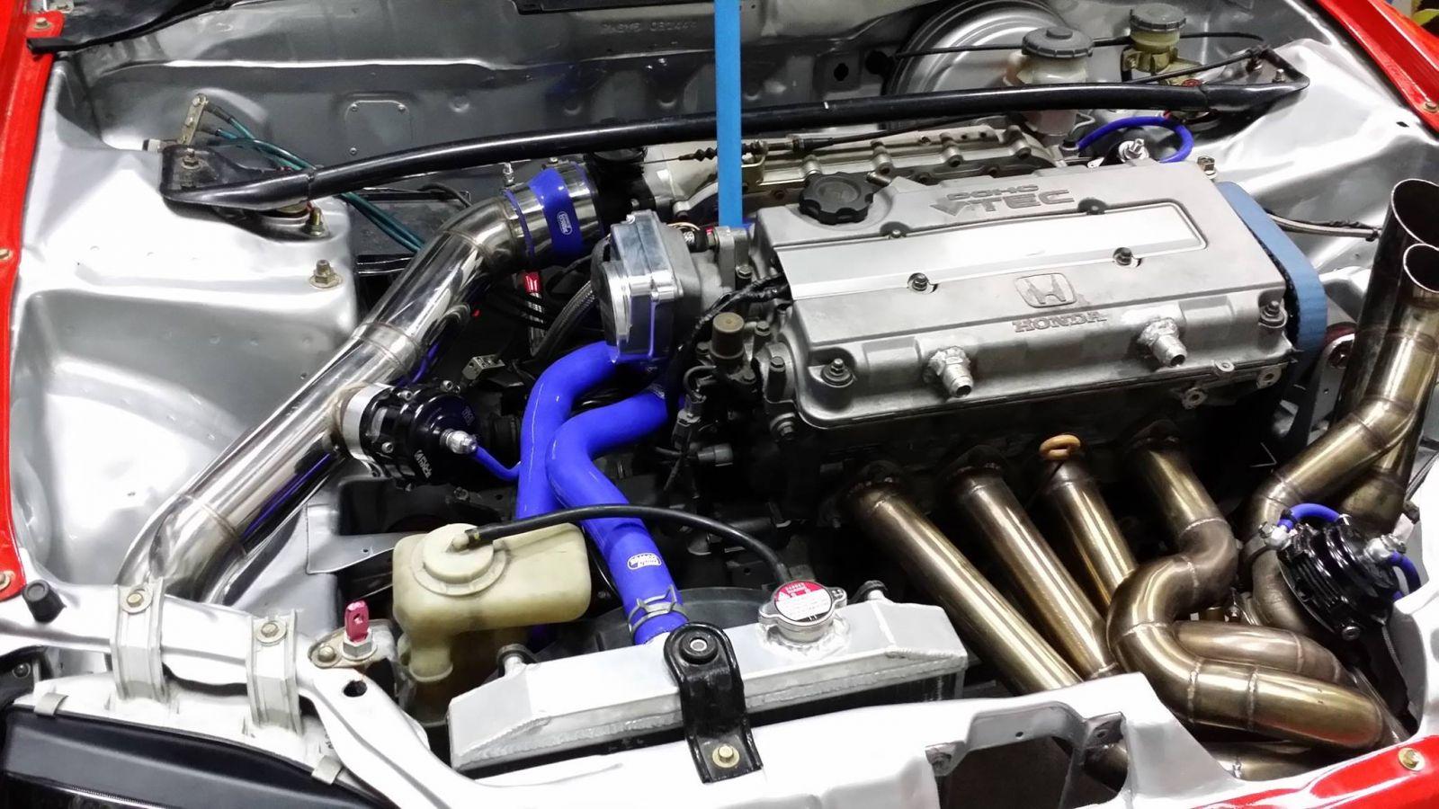 Honda Civic Turbo Kits Honda civic EG / Project drag car ( Quick 8 class )